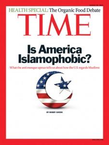 Is America Islamophobic Time Mag cover 0810